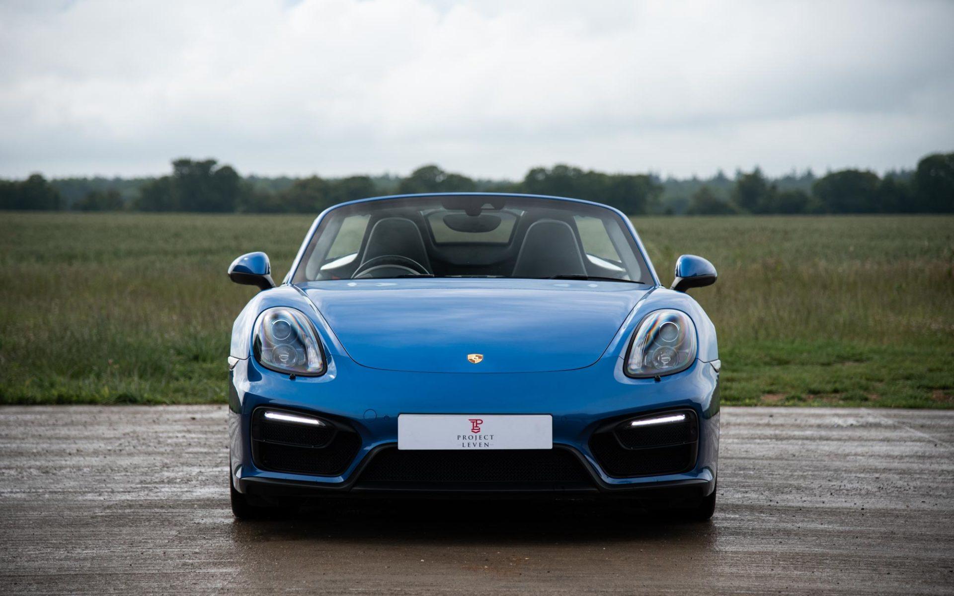 Project Leven | Porsche 981 Boxster GTS : Project Leven